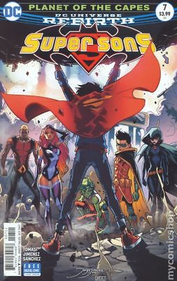 Super Sons (DC) #7A 2017 Jimenez Variant VF Stock Image