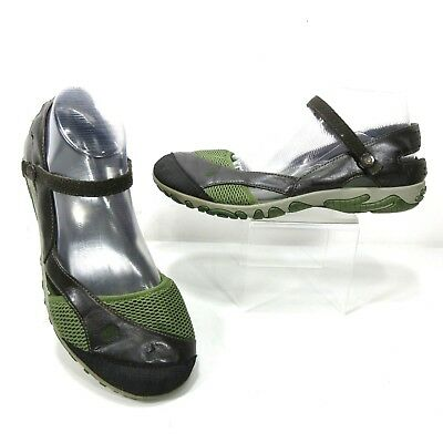 277dc64ab TEVA Women s Size 8.5 Westwater Sport Mary Jane Sandals Shoes Green Brown   6313