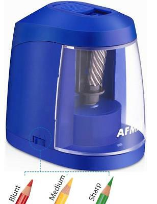 Electric Pencil Sharpener USB & AC Adapter Battery Operated Heavy Duty NEW