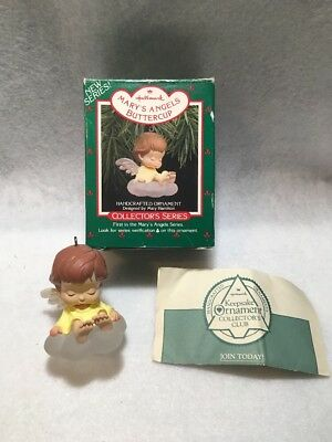 Hallmark Marys Angels Buttercup First 1st In Series 1988