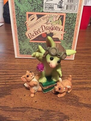 Fantastic Flying Fluff Balls Whimsical World Of Pocket Dragons
