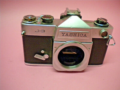 Vintage Yashica J-3 J3 35mm Film  Camera SLR AS IS Parts