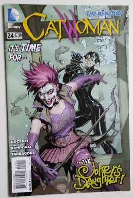Catwoman # 24 ,the Jokers Daughter . New 52. Dc Comics