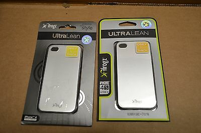 Wholesale Lot of 60 iFrogz Ultra Lean Silver iPhone 4/4S Cases IP4UL-SLV