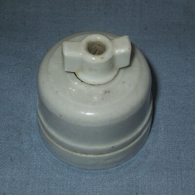 *Antique, ceramic 1 or 2 way Rotary Switch*