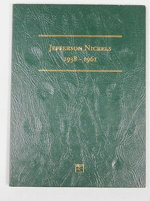 Complete Jefferson Nickel Collection in Littleton  Folder 1938-1961 Check Pics!!