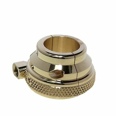 1'' Brass Throttle Housing Single Cable Knurled