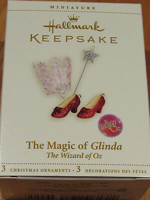 Hallmark Keepsake Ornament Miniature Wizard Of Oz Magic Of Glinda Christmas