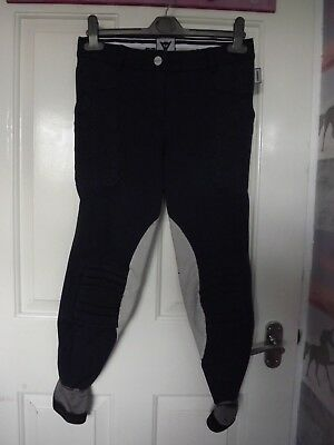 Superb Genuine Dainese Arion Crash Absorb Eventing Breeches Ladies Teens 26 8