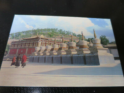 AK China The eight stupas in the Taer Lamasery