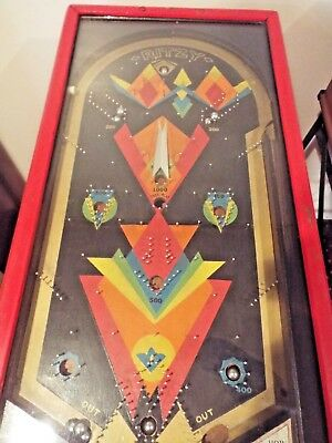Vintage 1930's RITZY Pinball Machine in Working Order