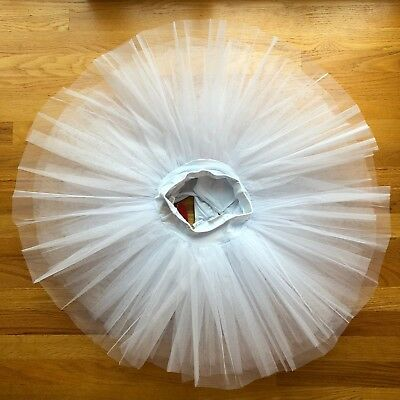 Capezio Women's Practice Tutu (10391) white Small New with Tags