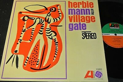 HERBIE MANN At The Village Gate / German LP ATLANTIC 1380