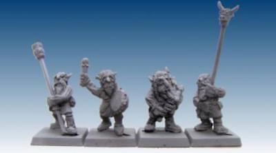 Scotia Grendel Braveheart Goblins 25mm Clan Musicians and Standards Pack MINT