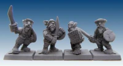 Scotia Grendel Steppe Goblins 25mm Steppe Warriors w/Hand Weapons Pack MINT