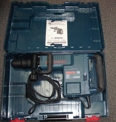 Bosch 11316EVS SDS-Max VARIABLE SPEED  Demolition Hammer & CASE MINT+ FREE SHIP