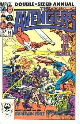 Avengers (1st Series) Annual #14 1985 VG Stock Image Low Grade