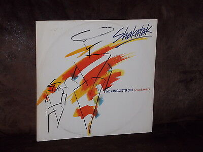 "12""-Vinyl-Maxi-Single: SHAKATAK - Mr. Manic & Sister Cool (1987)"