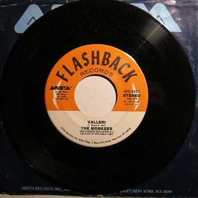 Monkees-Valerie / I'm Not Your Steppin' Stone - Rare Jukebox 45 Mint Unplayed!!
