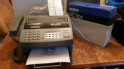 Brother IntelliFAX 1150 Plain Paper Fax Phone and Copier/Refurbished/Manual