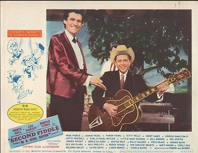 1937 GIBSON SUPER 400 GUITAR ~Owned by Jimmy Dickens MOVIE POSTER ~Must SEE~