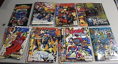 Sets of Age of Apocalypse 1995 set 24 comics Weapon X Gambit Amazing X-Men NM