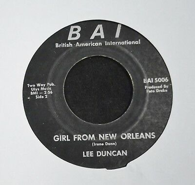 LISTEN MP3 COUNTRY Lee Duncan BAI 5006 Girl From New Orleans