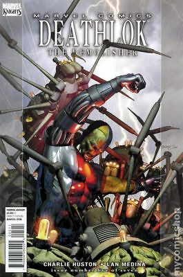 Deathlok (3rd Series) #5 2010 VF Stock Image
