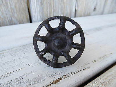 Vintage Style WATER FAUCET DRAWER PULLS KNOBS ~ Cast Iron ~ Farmhouse Industrial