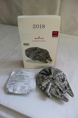 Hallmark Keepsake 2018 Star Wars Interactive Millennium Falcon