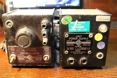 General Radio 1203-B Power Unit and 1214-A Unit Oscillator