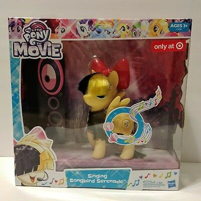 7d608b21b2e My Little Pony The Movie Singing Songbird Serenade Sia Exclusive Pony  Figure NIB