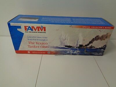 The Texaco Oil Tanker Ohio Boat Ship Famm Special 2000 Collector Model Mib #809