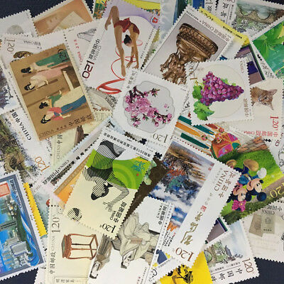 Chinese Postage Stamps Classic Architecture People Landscape Paper Gift Supply