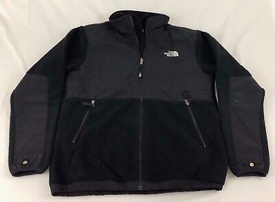 The North Face Boy's Sz. XL Black Full Zip Fleece Jacket! Very Nice!