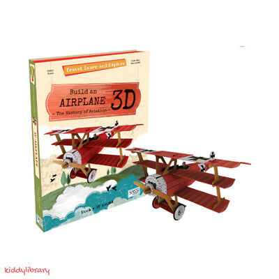 Travel, Learn, and Explore - Build an airplane 3D