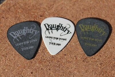 Daughtry Authentic Guitar Pick Lot Chris Daughtry Josh Steely