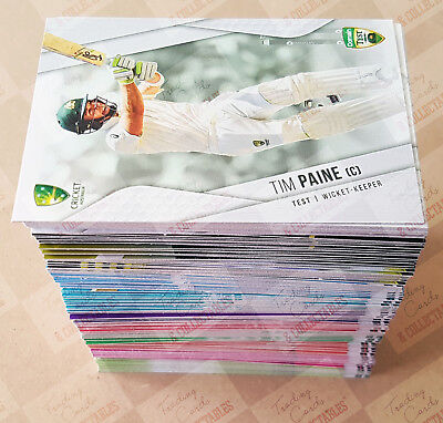 2018-19 Tap N Play cricket trading cards complete base set ONLY ~ HOT ITEM