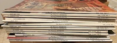 the magazine antiques lot of 14...1991-2007