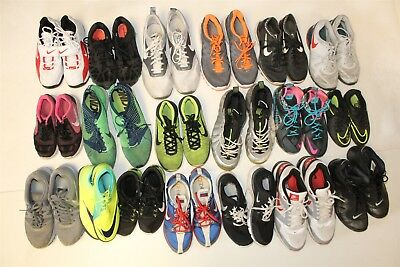 NIKE Lot Wholesale Used Shoes Rehab Resale NINETEEN PAIR Collection cSdS
