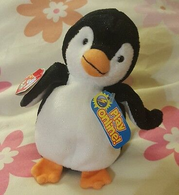 TY Beanie Baby 2.0 Chill the Penguin Unused Code New with Tags 2007 Retired