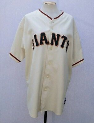 San Francisco Giants Majestic Jersey 2002 World Series Patch MLB