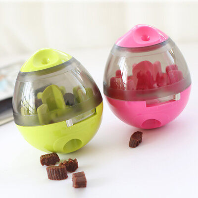 Treat Ball Interactive Food Dispensing Pet Toy for Dogs Cats Increases IQ