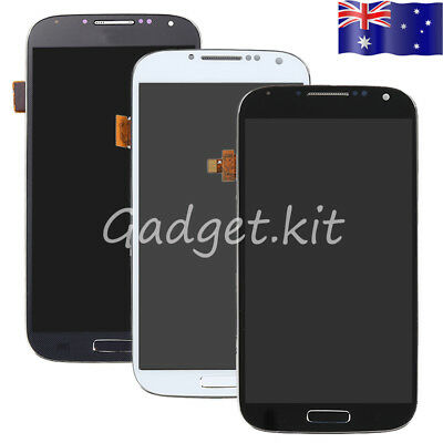 For Samsung Galaxy S4 i337 i9500 i9505 LCD Display Touch Screen Digitizer +Frame