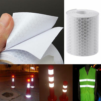 3M Reflector Tape Hi Vis Safety Car Bicycle Cycling DIY Reflective Stickers UK