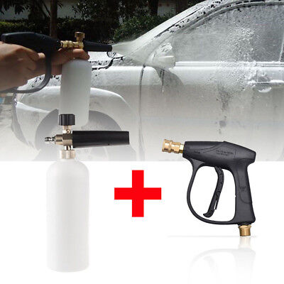 High Pressure Car Washer Gun Water Jet Snow Foam Lance Cannon Cleaning Cleaner