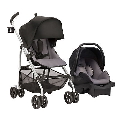 Evenflo Roundtrip Travel System With Litemax 35 Infant Car Seat (Glenbarr Gray)