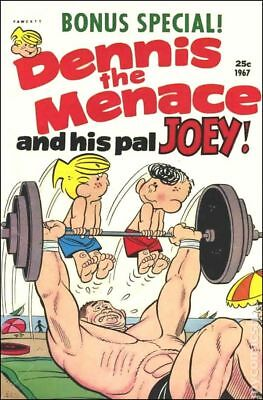 Dennis the Menace and His Pal Joey (Giants) #45 1967 VG Stock Image Low Grade