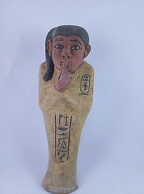 ANCIENT EGYPTIAN USHABTI ANTIQUE King Tomb 1478-1235 BC