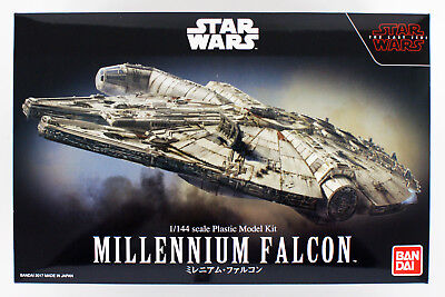 Bandai Star Wars The Last Jedi Millennium Falcon 1/144 kit 197706